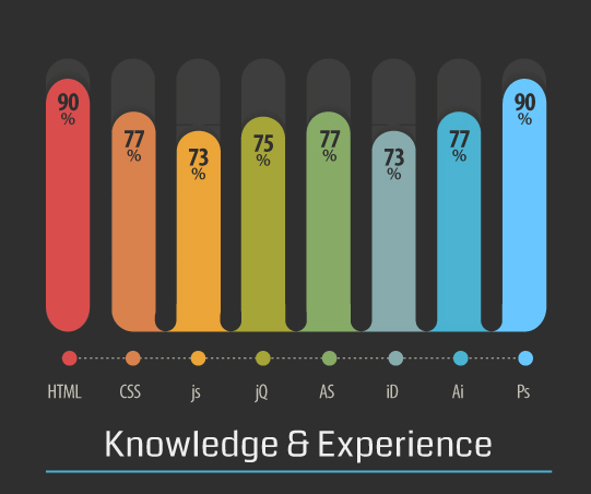 experience infographic